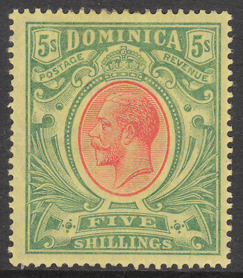 Dominica 1908 1914 #54 Mint Gv Stamp