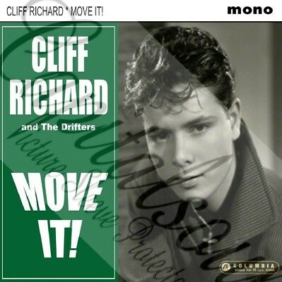 50S British Rock 'n' Roll Columbia Cliff Richard Move It! Picture Sleeve