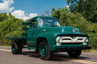1955 Ford Other Pickups F350 1955 Ford F-350 Stakebed Dualie Truck