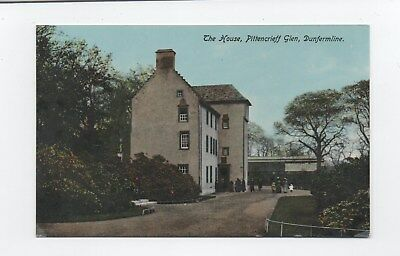 Early postcard House Pittencrieff House  Dunfermline Fife
