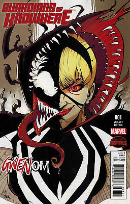 Guardians of Knowhere #1 Gwenom Variant Cover! 1st Appearance