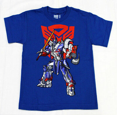 TRANSFORMERS OPTIMUS PRIME Blue Color BOYS Licensed T-Shirt