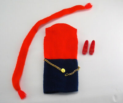 Vintage Barbie Complete 1969-70 Mod Shift Into Knit #1478 Doll Outfit