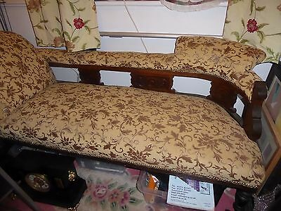 Victorian double ended chaise picclick uk for Chaise longue double a bascule