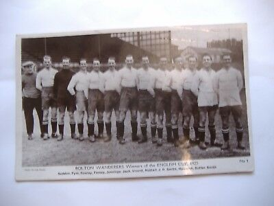 Bolton Wanderers, Original Daily Sketch Postcard 1923 FA Cup Winners