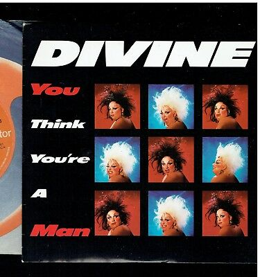 Divine You Think You're A Man Ps 45 1984