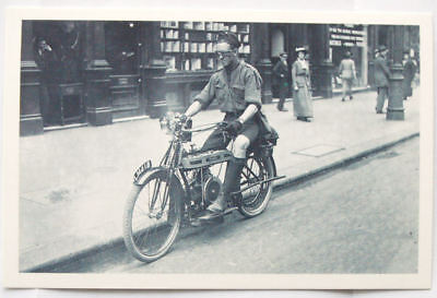 c.1980s PC Motor Cycle Scout on Douglas Motorcycle, 1914