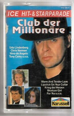 CLUB DER MILLIONÄRE - Udo Lindenberg, Chris Norman, Nino de Angelo - MC