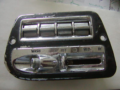 1959 Cadillac Master Lh Power  Window And Wiper Switch