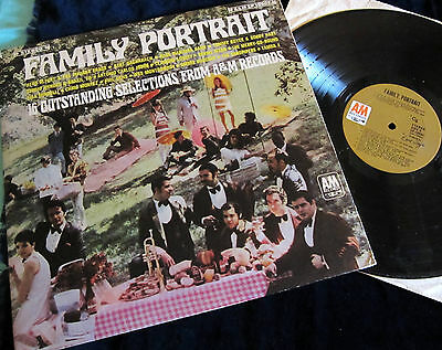 """12"""" LP V.A. - FAMILY PORTRAIT - FROM A&M Records !!! A&M USA !!!"""