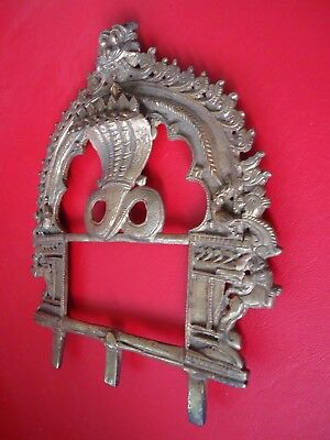 Old Bronze / Brass Indian Temple Shrine Part