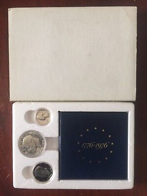 BOXED 1976 Bicentennial (3 pc. Silver U.S. Proof Set)