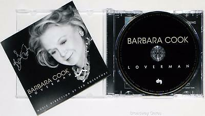 Barbara Cook Signed Barbara Cook: LOVERMAN CD