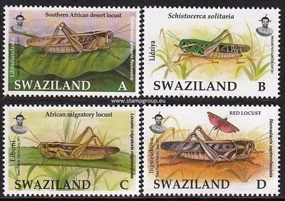 SWAZILAND (1201) 2012 Insects  Insectes  Insekten  MNH