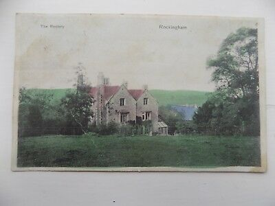 The Rectory Rockingham Northamptonshire 1906 Posted Vintage Old Postcard  c