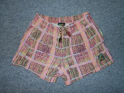 O'neill Vintage 80's Mens Small 30 Colorful Cotton Shorts - Made In Usa