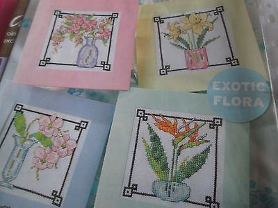 'Eastern Bouquets' Joan Elliott cross stitch chart(only)