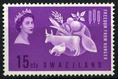 Swaziland 1963 SG#106 Freedom From Hunger MNH #D58670