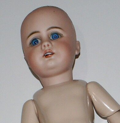 Antique German Simon Halbig #949 Bisque Head Doll S10H Real Seeley Body 15""