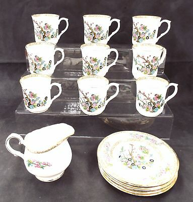 DUCHESS Fine Bone China 16 Pieces Tea Set Made In England - S23