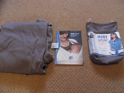 Moby Wrap - The Comfortable Baby Carrier Unisex Baby Sling
