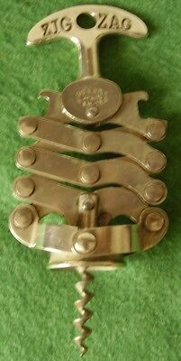 Antique Corkscrew Zig-Zag French Concertina Nice Condition Fine Working Order