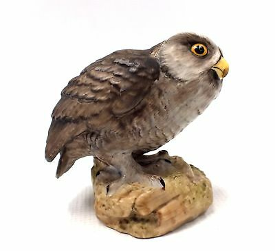 Vintage AYNSLEY Little Owl Figurine Ornament, 1975 - 11cm - S86