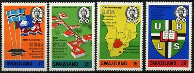 Swaziland 1974 SG#208-211, 10th Anniv Of University MNH Set #D58680
