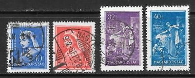 HUNGARY - 1932.  St. Elizabeth Death Anniv - Set of 4, Used.