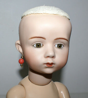 """A. Marque Porcelain Doll Reproduction Byron Molds 18""""Jointed 12 R BGB"""