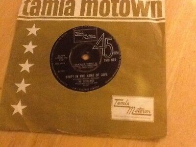"The Supremes Vinyl 7"" Single (stop In The Name Of Love) 1965 Motown"
