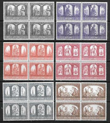 VATICAN - 1966.  Poland's Christian Millennium - Set of 6 in MNH