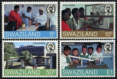 Swaziland 1984 SG#444-7 Education MNH Set #D58699