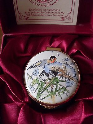 Staffordshire Enamels Box Country Diary Of An Edwardian Lady Birds September