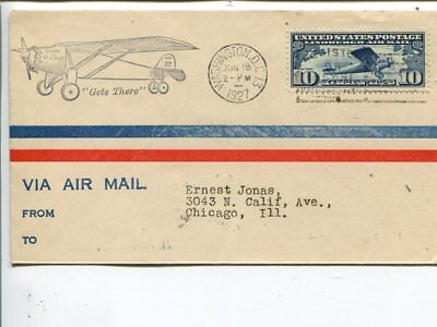 USA FDC Jun 18 1927