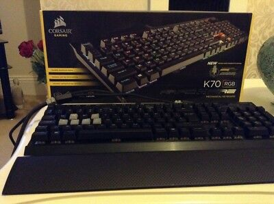 Corsair Gaming K70 RGB Rapid Fire Mechanical Keyboard