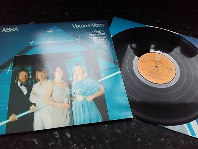 ABBA - RARE IRISH 1st PRESS LP - VOULEZ VOUS - 1979 - NICE!!