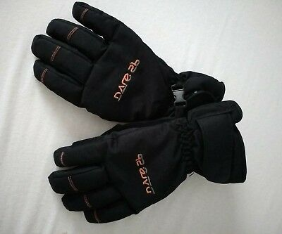 Dare2b Stick Up Kids Ski Gloves Childrens Boys Skiing Insulated size 11-13 years