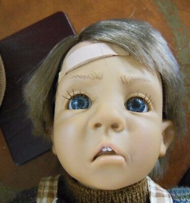 Beautiful D'anton-Jos Doll Made In Spain 1995 Sanchis Signed Excellent Condition
