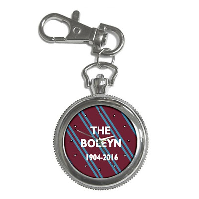 The Boleyn Ground 1904-2016 West Ham Round Keychain Watch **great Gift Idea**