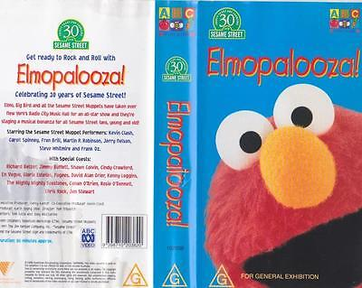sesame street quiet time vhs video � cad 874