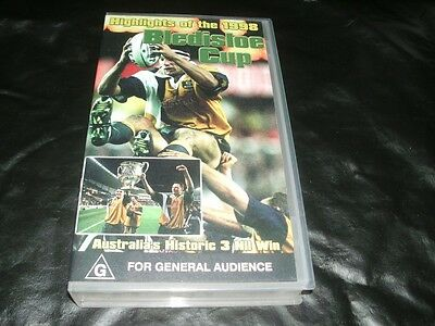 Rugby Union Bledisloe Cup Mint Sealed Vhs Pal Video~