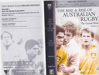 Rugby Union The Rise & Rise Of Australian Rugby Two  ~Video Vhs Pal~ A Rare Find