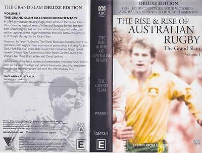 Rugby Union The Rise & Rise Of Australian Rugby One  ~Video Vhs Pal~ A Rare Find
