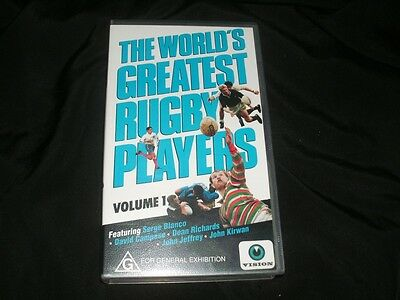 Rugby Union~The Worlds Greatest Rugby Players~ Video