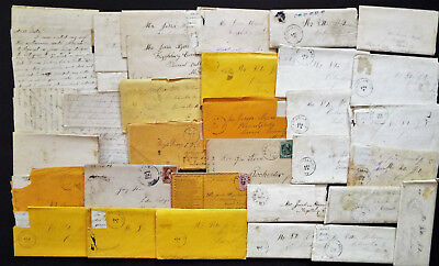 For The History Buff 19Th C. Letters From Frizellburg, Maryland +++