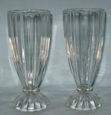 Jeanette National 2 Footed Tumblers 12 Ounce