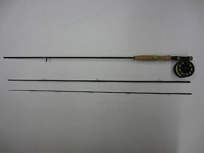 Okuma AF-903-5 Airframe Fly Combo 9' Graphite Rod 5wt 3 Piece Fishing Pole