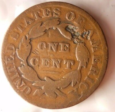 1831 UNITED STATES ONE CENT - QUALITY HARD TO FIND Coin - Lot #116