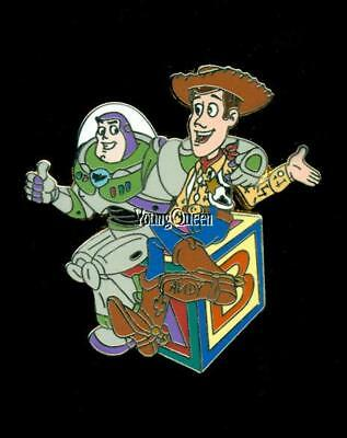 Disney Shopping Toy Story Friendship Day Buzz Woody On Block Le 250 Pin